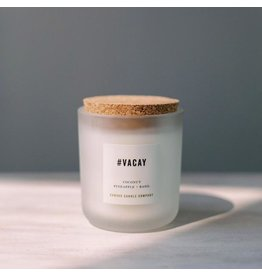 Canvas Candle Co. #VACAY Candle