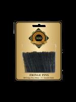 "999 Premium Pin Company 999 Fringe Pins 2"" Black 100pk"