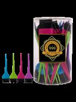 999 Premium Pin Company 999 Tint Brushes Large Coloured Tub 36pcs