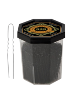 "999 Premium Pin Company 999 Fringe Pins Fine 2"" Black Tub 120g"