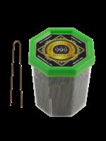 "999 Premium Pin Company 999 Ripple Pins 2"" Bronze Tub 250g"