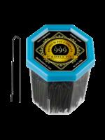 """999 Premium Pin Company 999 Ripple Pins 2"""" Black Tub 250g"""