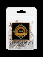 999 Premium Pin Company 999 Curl Clips Single Prong Metal 100pk