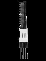 Dateline Dateline Black Celcon 105R Metal Teasing Comb