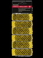 Dateline Swiss Rollers 20mm Yellow 6pk