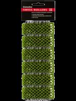 Dateline Swiss Rollers 25mm Green 6pk