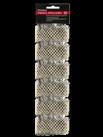 Dateline Swiss Rollers 32mm White 6pk
