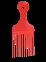 Salon Smart Salon Smart Afro Comb - Red