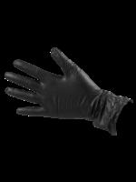 Salon Smart Salon Smart Black Vinyl Gloves - Large - Box 100pcs