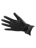 Salon Smart Salon Smart Black Vinyl Gloves - Medium - Box 100pcs