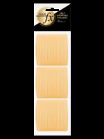 Hair FX Hair FX Magic Grip Rollers 63mm Yellow 6pk