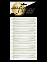 Hair FX Hair FX Lightweight Perm Rods 6mm White 12pk
