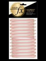 Hair FX Hair FX Lightweight Perm Rods 7mm Light Pink 12pk