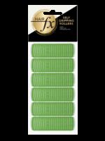 Hair FX Hair FX Magic Grip Rollers 21mm Green 12pk