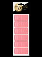 Hair FX Hair FX Magic Grip Rollers 24mm Pink 12pk