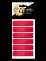 Hair FX Hair FX Magic Grip Rollers 13mm Red 12pk