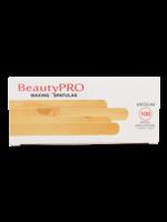 BeautyPRO Beautypro Wooden Applicators Medium 100pcs