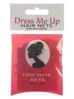 Dress Me Up Dress Me Up Fine Hair Net Blonde 2pk
