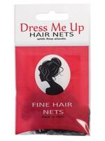 Dress Me Up Dress Me Up Fine Hair Net Light Brown 2pk