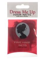 Dress Me Up Dress Me Up Fine Hair Net Medium Brown 2pk