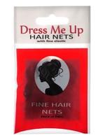 Dress Me Up Dress Me Up Fine Hair Net Dark Brown 2pk