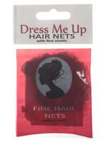 Dress Me Up Dress Me Up Fine Hair Net Black 2pk