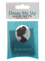 Dress Me Up Dress Me Up Bun Net Light Brown 2pk