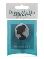 Dress Me Up Dress Me Up Bun Net Medium Brown 2pk