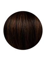 Seamless1 Seamless1 Human Hair Clip-in 5pc Hair Extensions 21.5 Inches - Mocha Blend
