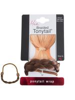 Mia Mia Braided Tonytail Pony Wrap