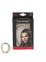 Mia Mia Thick Braided Headband Blonde