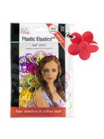 Mia Mia Plastic Hair Elastics 500pcs