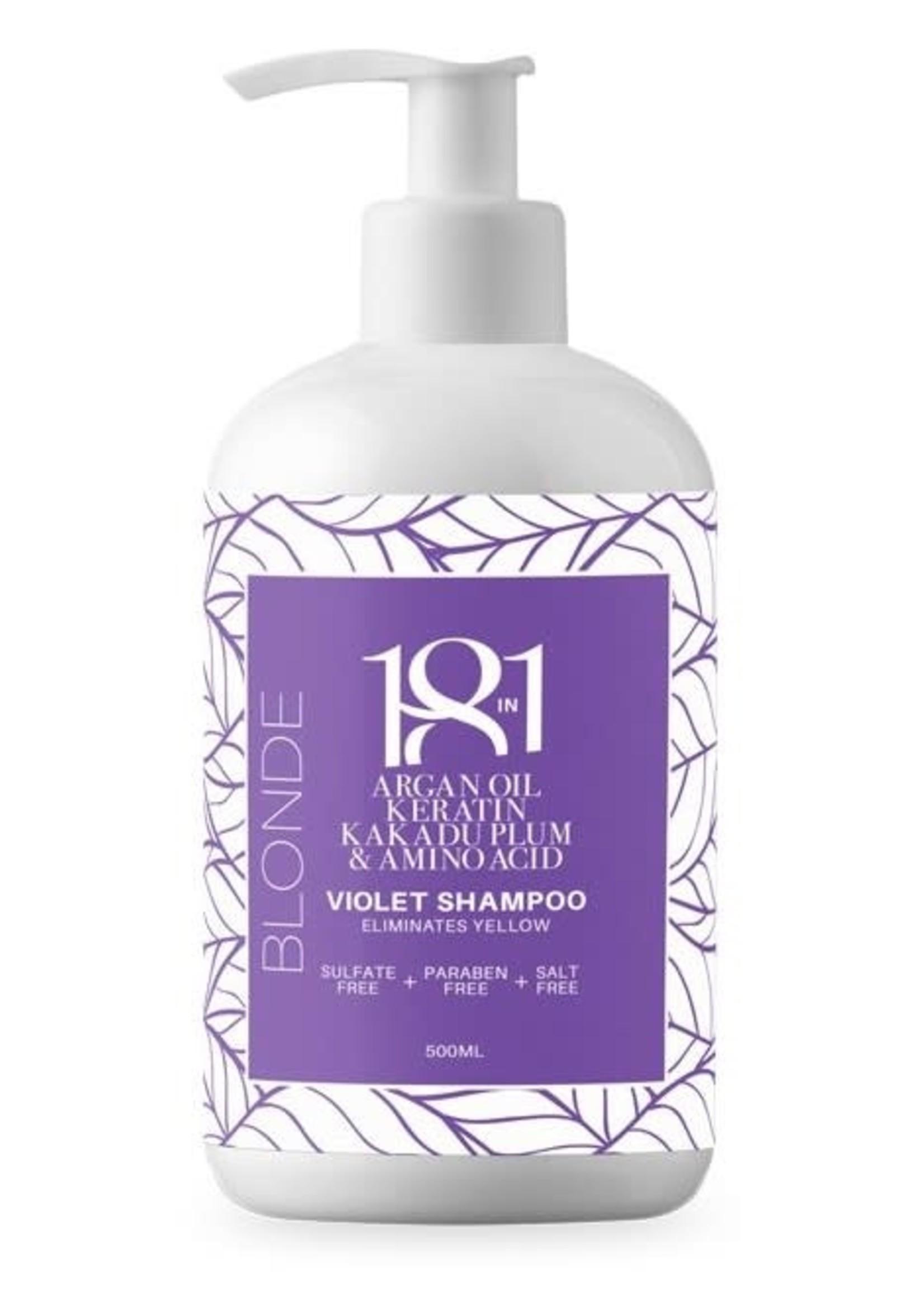 18 in 1 Blonde Violet Shampoo 500ml
