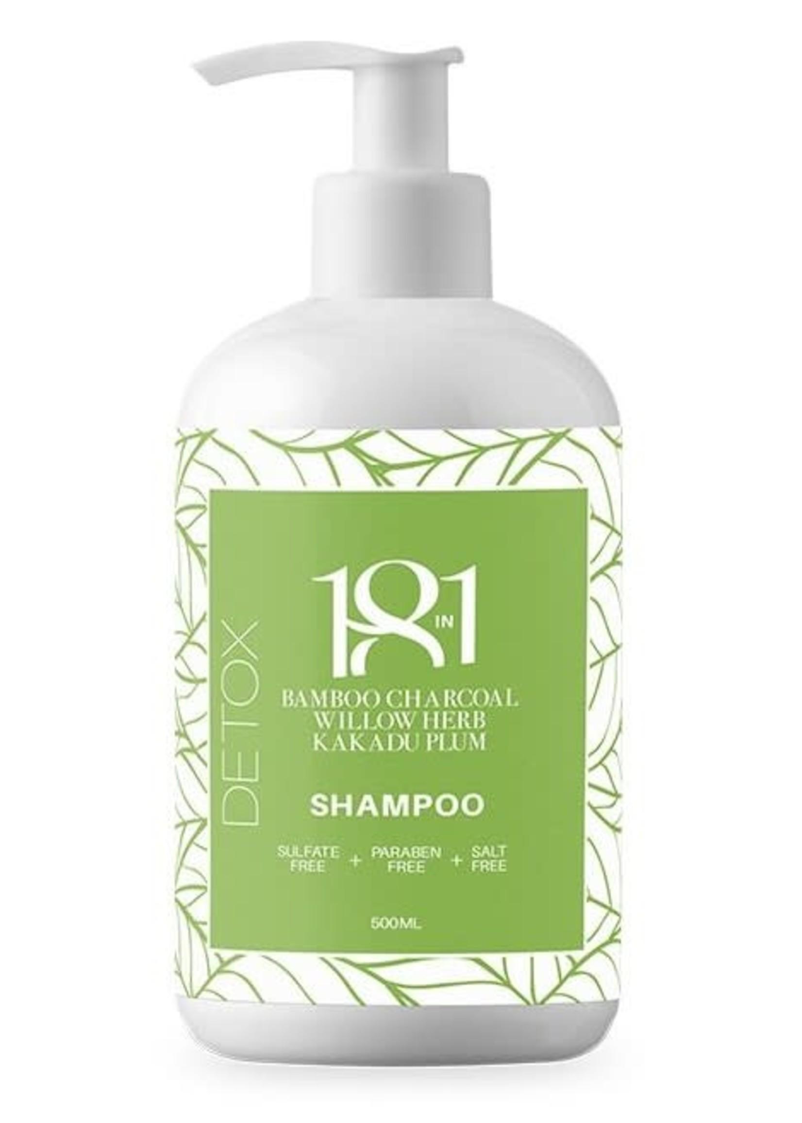 18 in 1 Detox Bamboo Charcoal Shampoo 500ml
