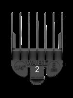 Wahl #2 Black Plastic Tab Attachment Comb