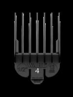 Wahl #4 Black Plastic Tab Attachment Comb