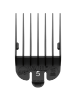 Wahl #5 Black Plastic Tab Attachment Comb