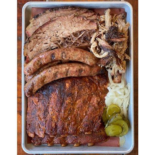 Blackstrap BBQ  Garlic Jalapeño Sausages, 4  links