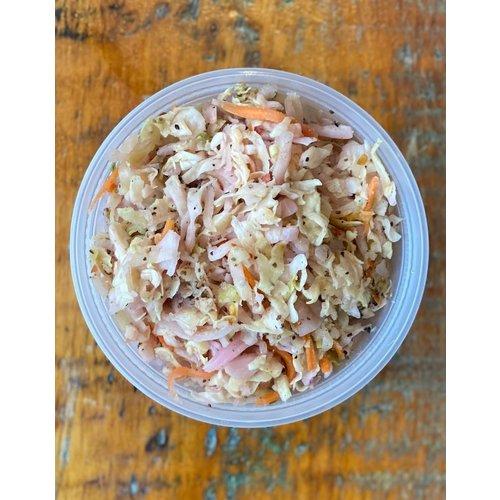 Blackstrap BBQ  Salade de chou au cidre