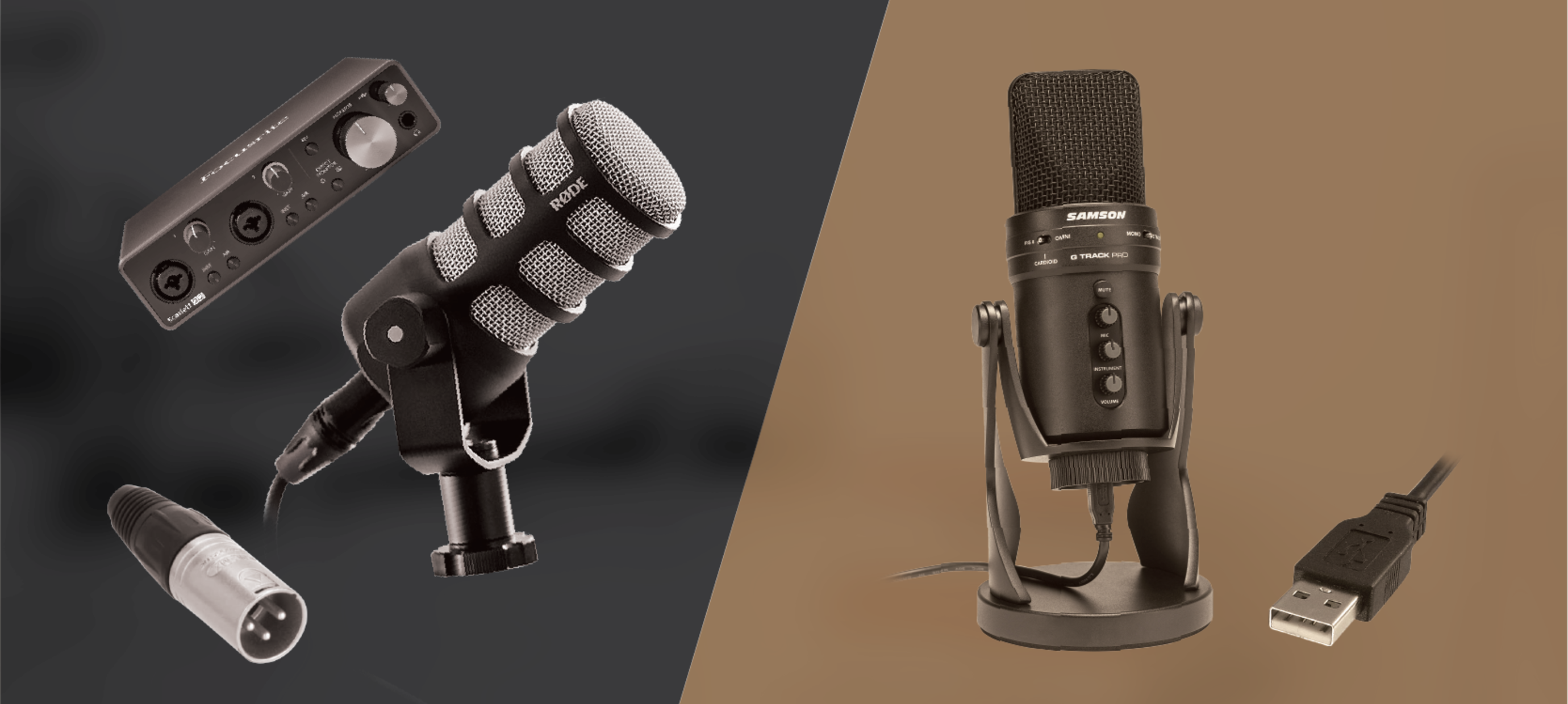 USB And XLR Microphones, What's The Difference?