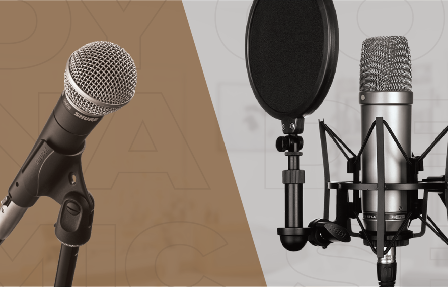 The Differences Between Dynamic And Condenser Microphones