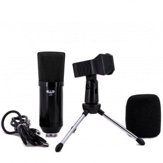CAD - USB Side Address Studio Condenser Microphone