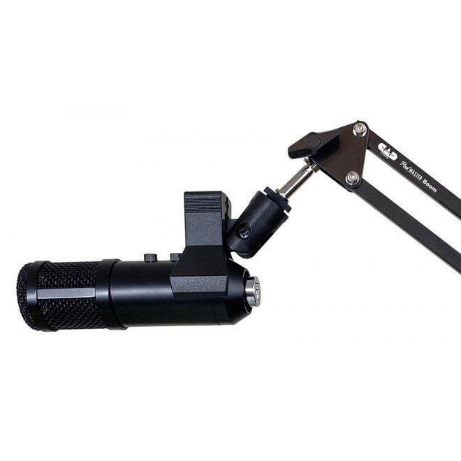 CAD - Dynamic USB Broadcast/Podcasting Microphone w/ broadcast boom arm