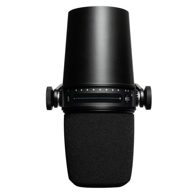 Shure - MV7 Podcast Microphone, Black