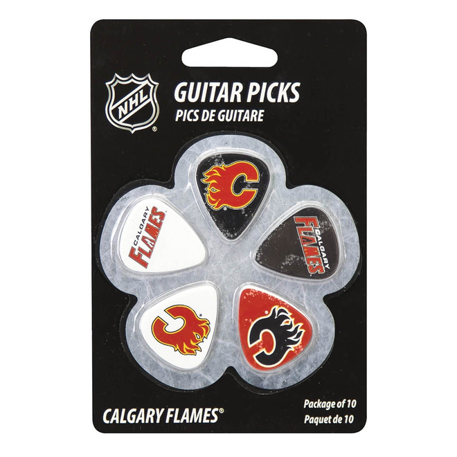 Hal Leonard - Guitar Picks Calgary Flames NHL