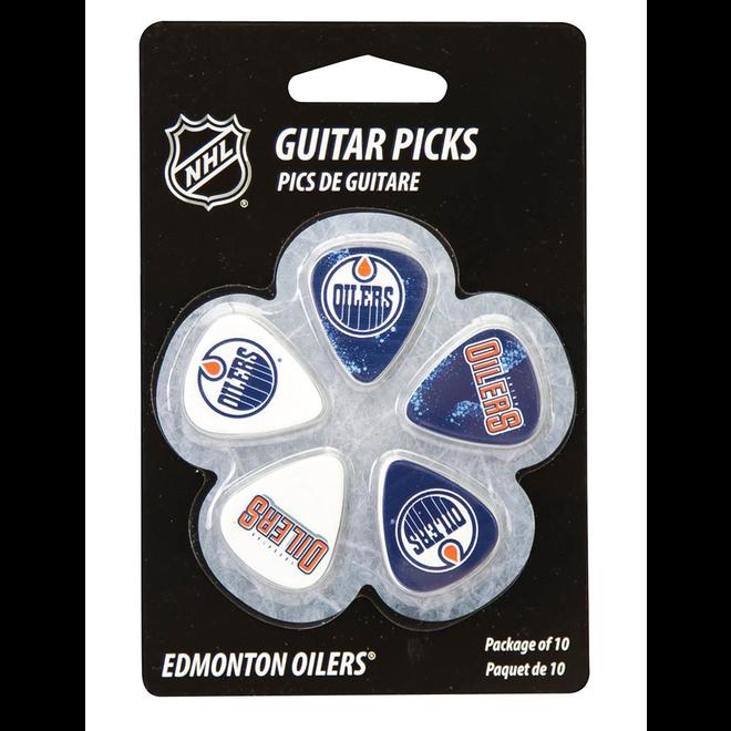 Hal Leonard - Guitar Picks Edmonton Oilers NHL