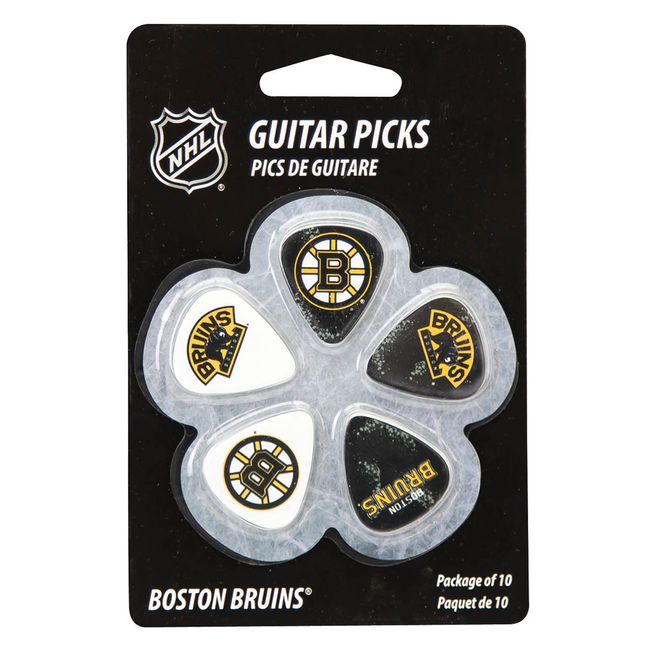 Hal Leonard - Guitar Picks Boston Bruins NHL