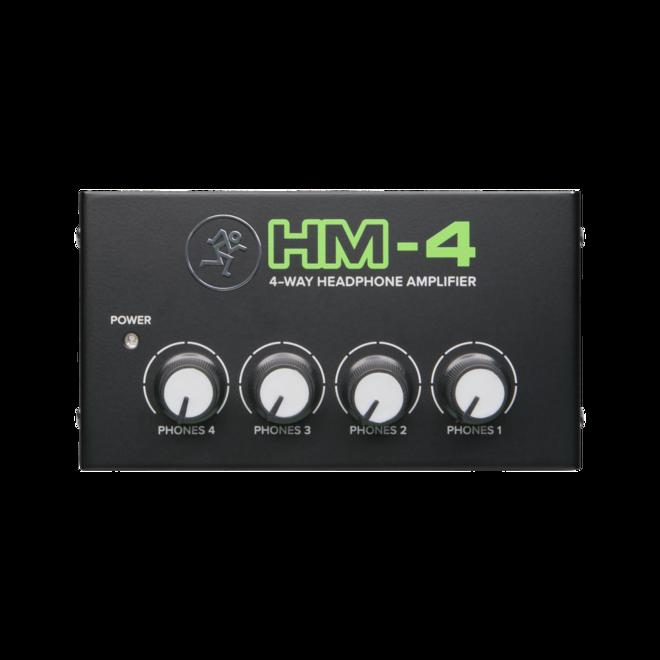 Mackie - HM-4 Compact 4-Way Headphone Amplifier