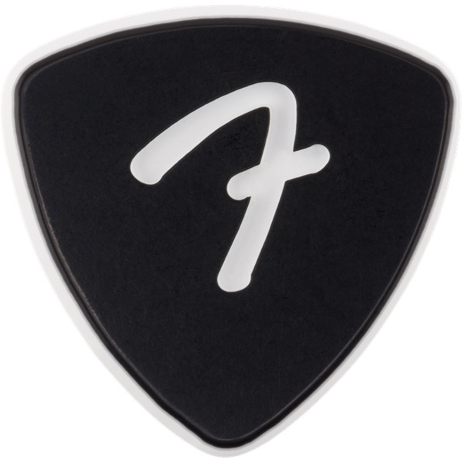 Fender - F Grip 346, Black, Pick Pack (3)