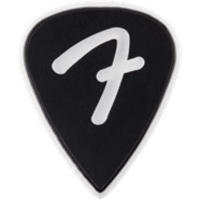 Fender - F Grip 351, Black, Pick Pack (3)